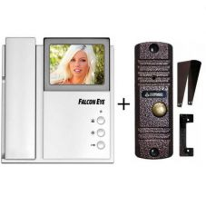 Комплект видеодомофона FE-4CHP2 + AVC-305 (PAL) Медь